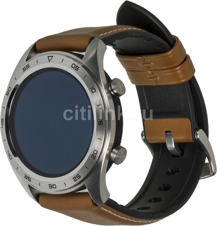 """Смарт-часы HONOR Watch Magic Talos-B19V,  1.2"""",  серебристый / коричневый [55023406]"""