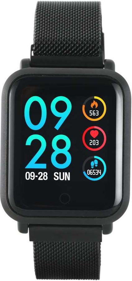 "Смарт-часы CANYON CNS-SW72BB,  1.22"",  черный / черный [ds1cnssw72bb]"