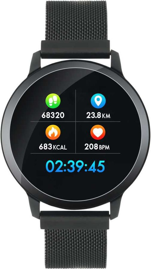 "Смарт-часы CANYON CNS-SW71BB,  1.22"",  черный / черный [ds1cnssw71bb]"