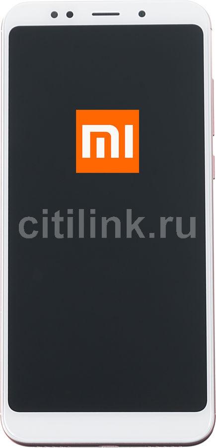 Смартфон XIAOMI Redmi 5 plus 64Gb,  розовый
