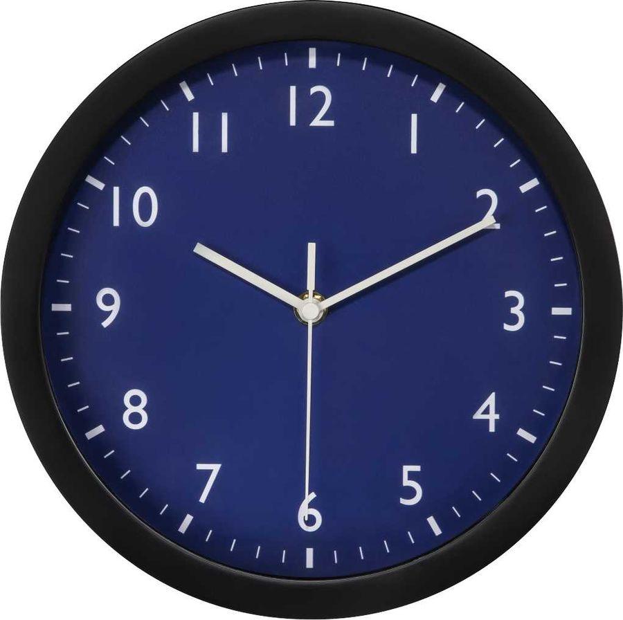 Настенные часы HAMA Pure, аналоговые,  синий