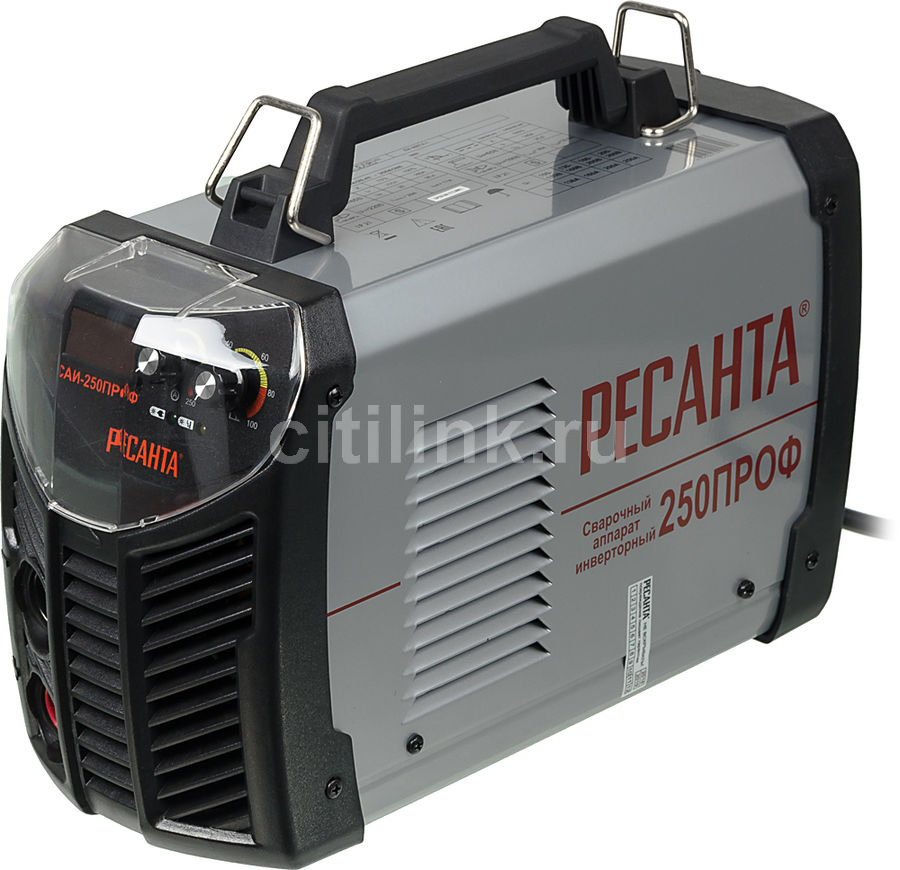 Сварочный аппарат инвертор РЕСАНТА САИ 250ПРОФ [65/31]