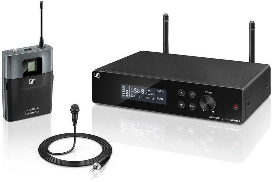 Радиосистема Sennheiser XSW 2-ME2-A беспровод. черный