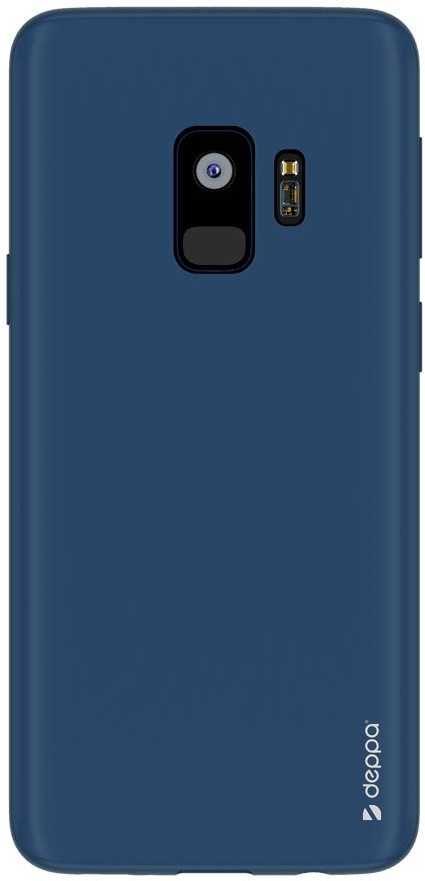 Чехол (клип-кейс) DEPPA Air Case, для Samsung Galaxy S9, синий [83339]