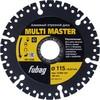 Отрезной диск FUBAG Multi Master,  универсальный,  115мм,  2.2мм, 22.23мм [88115-3] вид 1