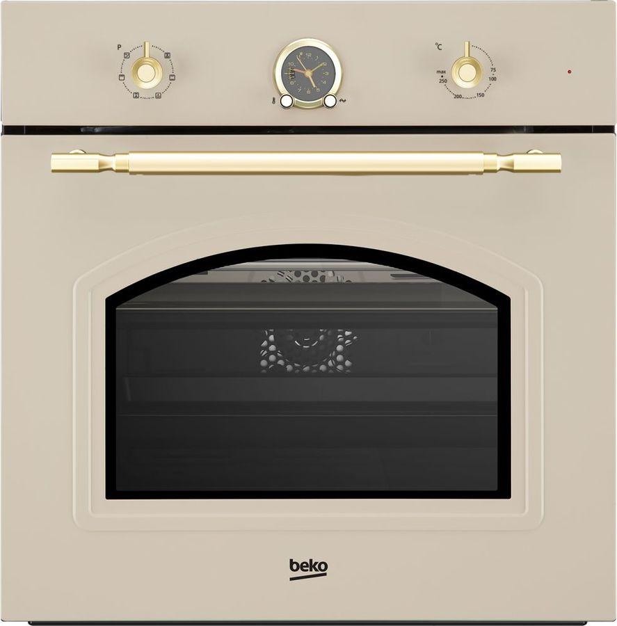 Духовой шкаф BEKO OIE27207C,  кремовый