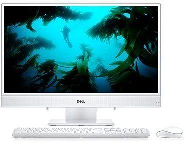 """Моноблок DELL Inspiron 3480, 23.8"""", Intel Core i3 8145U, 4Гб, 1000Гб, Intel UHD Graphics 620, Linux Ubuntu, белый [3480-4911]"""