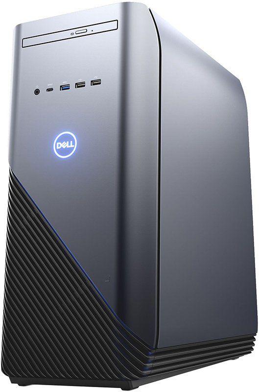 Компьютер  DELL Inspiron 5680,  Intel  Core i7  8700,  DDR4 8Гб, 1000Гб,  128Гб(SSD),  NVIDIA GeForce GTX 1060 - 6144 Мб,  DVD-RW,  Windows 10 Home,  серебристый и черный [5680-9010]