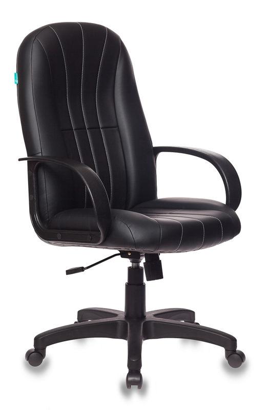 Кресло руководителя БЮРОКРАТ T-898, на колесиках, искусственная кожа [t-898/#b]