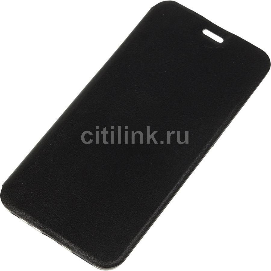 Чехол (флип-кейс) GRESSO Absolut, для Asus ZenFone Max Pro M2 ZB631KL, черный [gr15abs118]