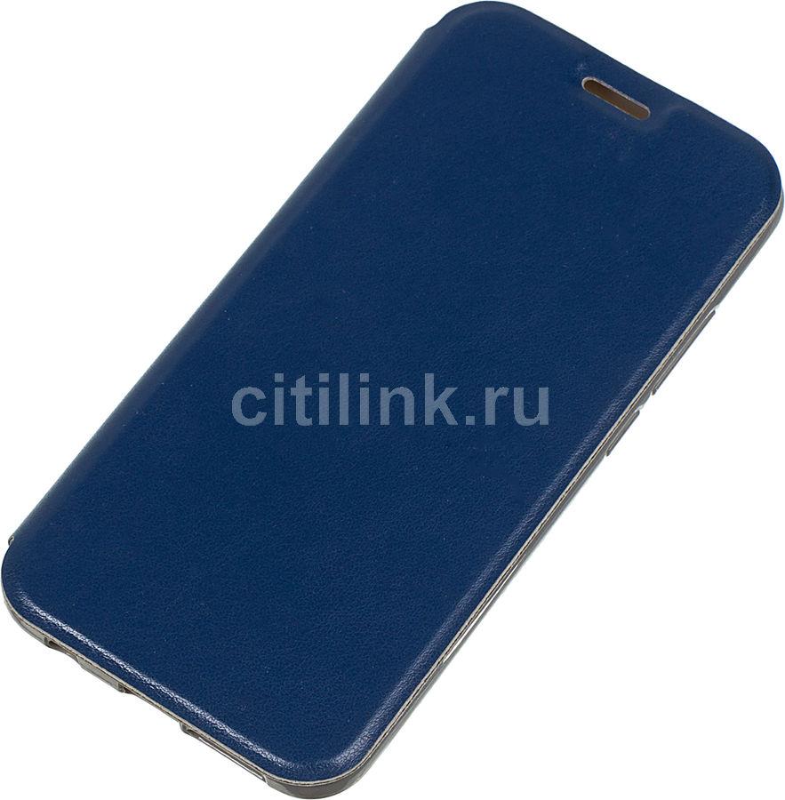 Чехол (флип-кейс) GRESSO Atlant, для Huawei Honor 10, синий [gr15atl165]