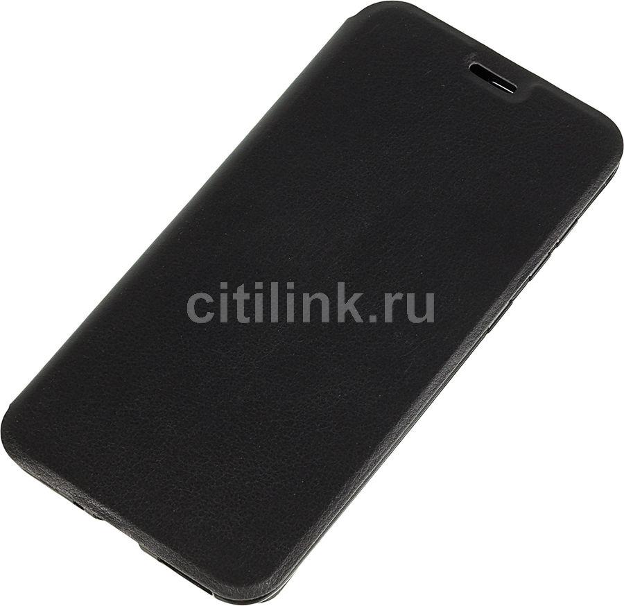 Чехол (флип-кейс) GRESSO Atlant, для Huawei Honor 8C, черный [gr15atl171]