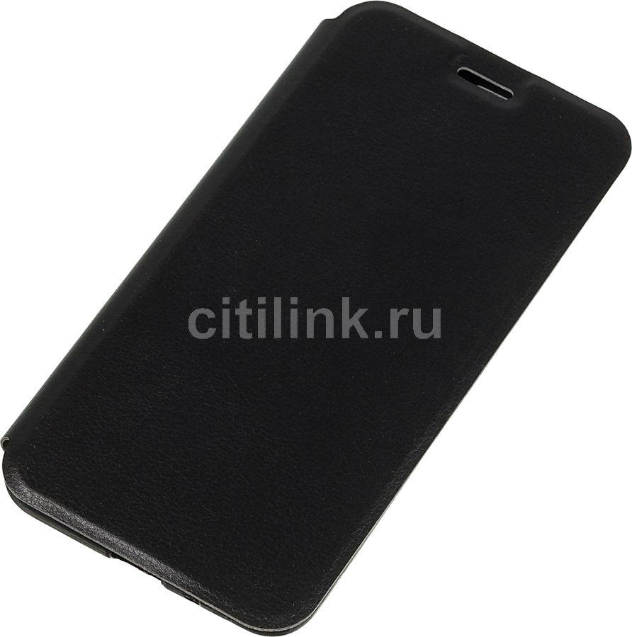 Чехол (флип-кейс)  Gresso Atlant, для Xiaomi Redmi 6A, черный [gr15atl160]