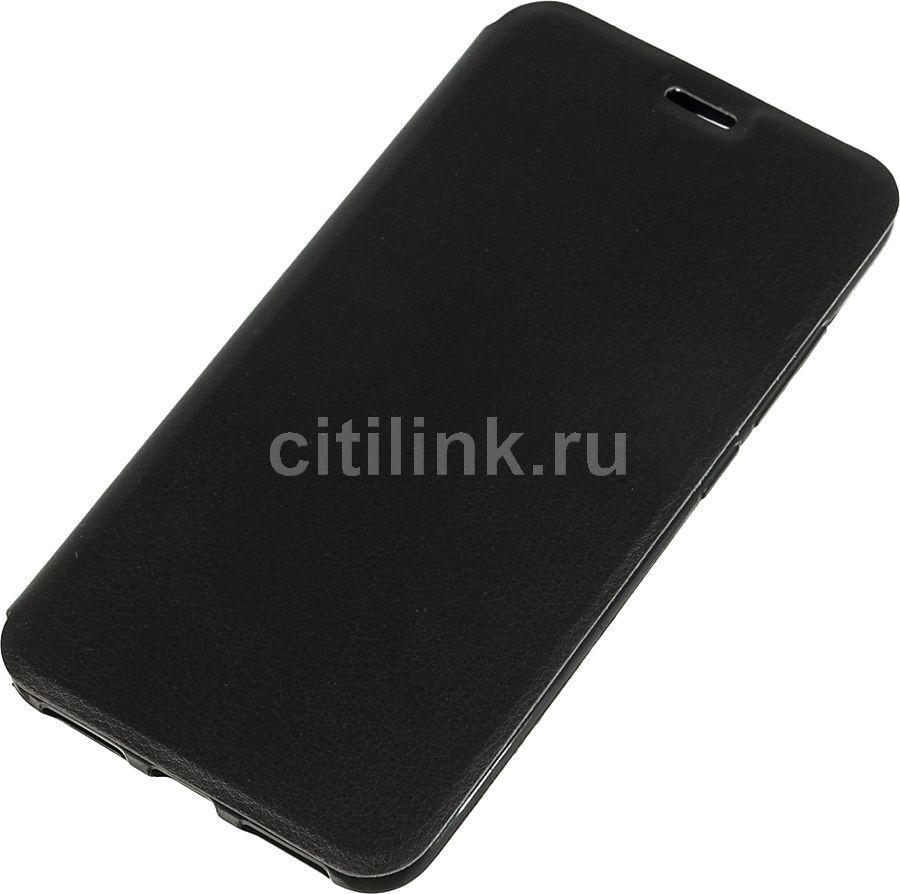 Чехол (флип-кейс) GRESSO Atlant, для Xiaomi Redmi Note 6 Pro, черный [gr15atl193]