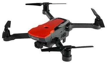 Квадрокоптер AOSENMA AOS-CG033 с камерой,  красный
