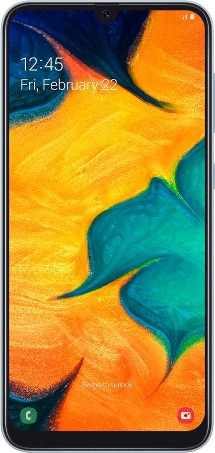 Смартфон SAMSUNG Galaxy A30 32Gb,  SM-A305F,  белый