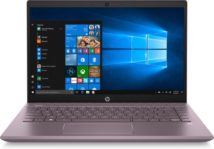 "Ноутбук HP 14-ce2008ur, 14"",  IPS, Intel  Core i5  8265U 1.6ГГц, 8Гб, 256Гб SSD,  Intel UHD Graphics  620, Windows 10, 6PR65EA,  фиолетовый"