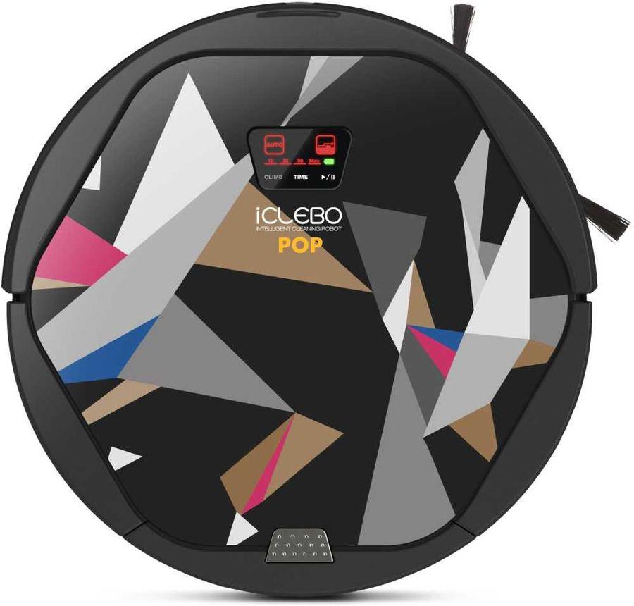 Робот-пылесос ICLEBO Pop Magic, 12Вт, ассорти