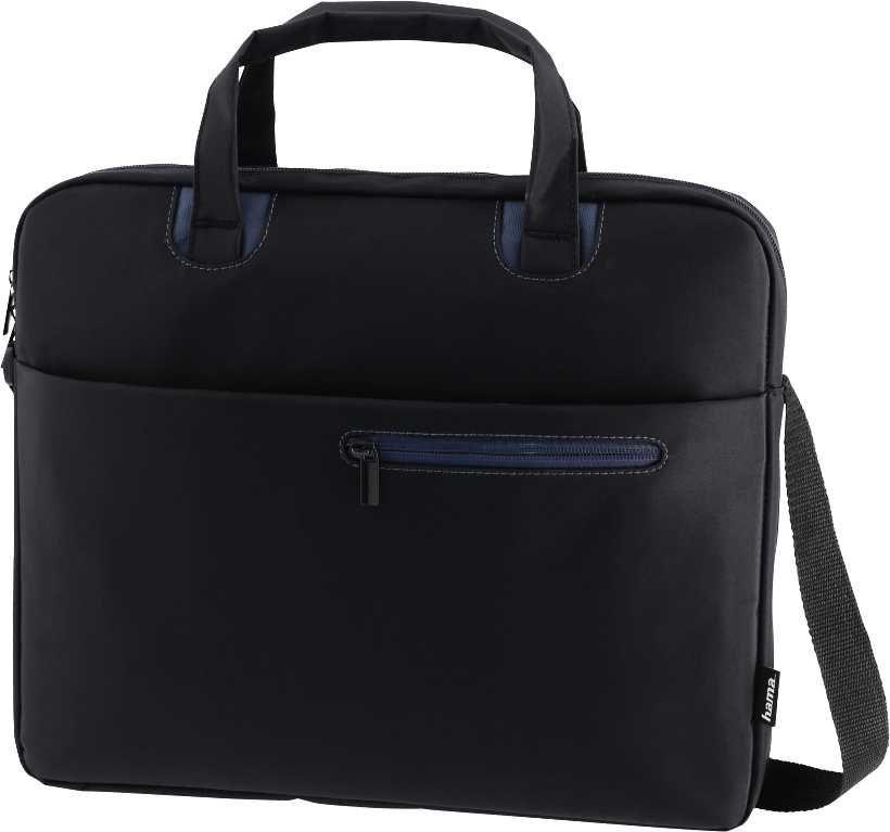 """Сумка для ноутбука 15.6"""" HAMA Sydney, черный/синий [00101931]"""