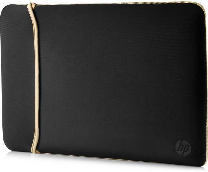 "Чехол для ноутбука 15.6"" HP Chroma Sleeve, черный/золотистый [2uf60aa]"