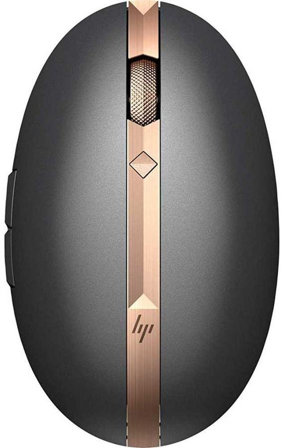 Мышь HP Spectre 700, лазерная, беспроводная, USB, пепельный и серебристый [3nz70aa]