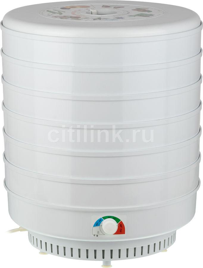 Сушилка для овощей и фруктов СПЕКТР-ПРИБОР Ветерок-2,  белый,  6 поддонов