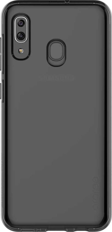 Чехол (клип-кейс) SAMSUNG Araree A Cover, для Samsung Galaxy A30, черный [gp-fpa305kdabr]