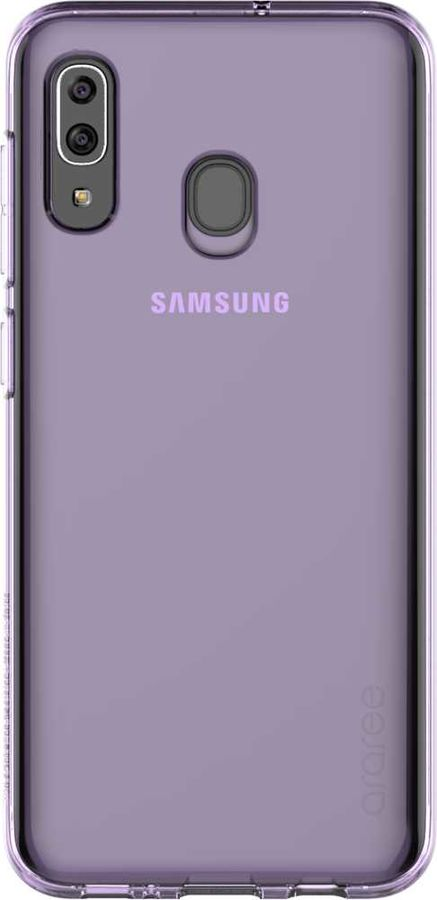 Чехол (клип-кейс) SAMSUNG Araree A Cover, для Samsung Galaxy A30, фиолетовый [gp-fpa305kdaer]