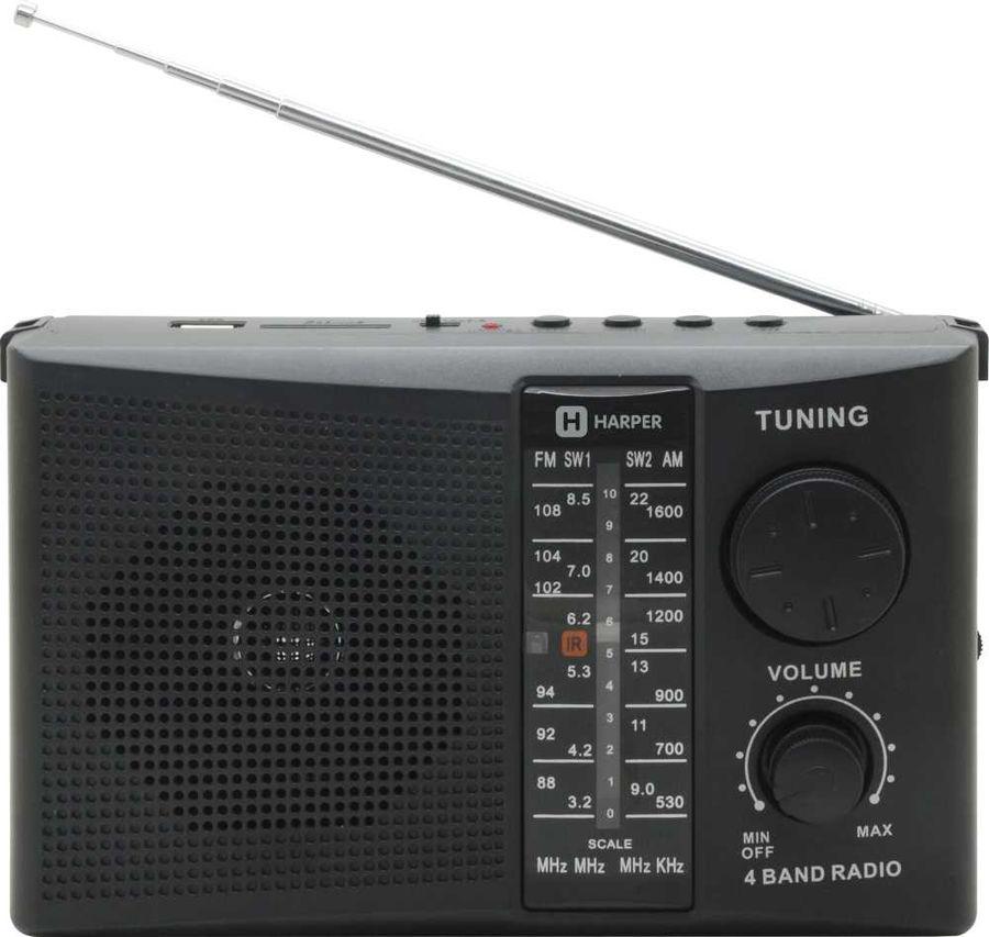 Радиоприемник HARPER HDRS-288,  черный