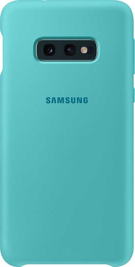 Чехол (клип-кейс) SAMSUNG Silicone Cover, для Samsung Galaxy S10e, зеленый [ef-pg970tgegru]