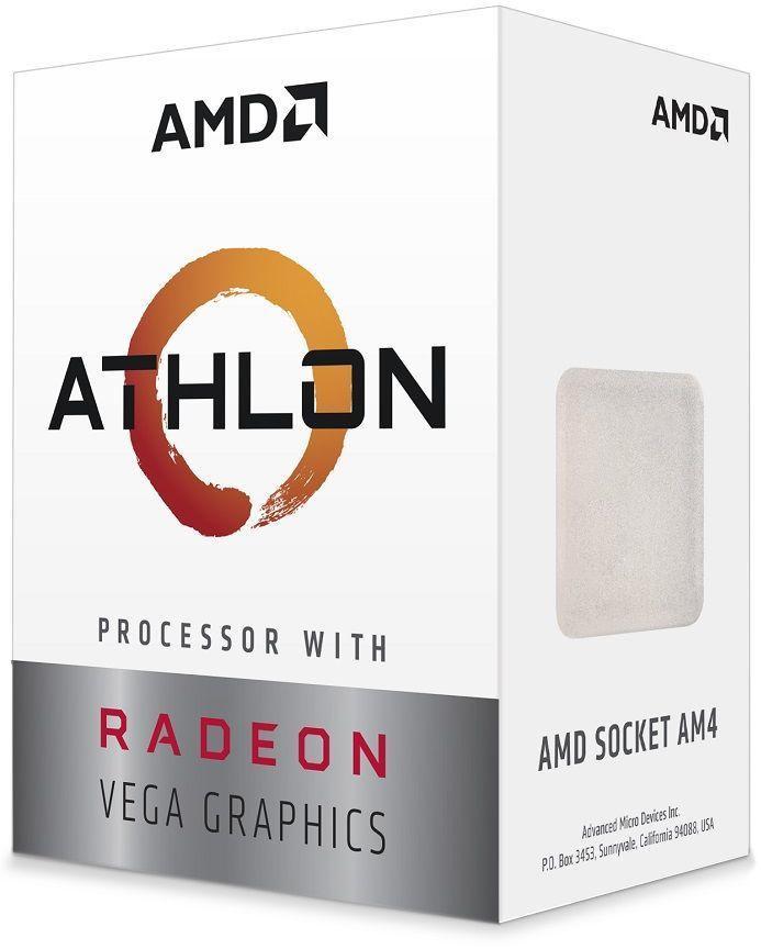 Процессор AMD Athlon 240GE, SocketAM4,  BOX [yd240gc6fbbox]