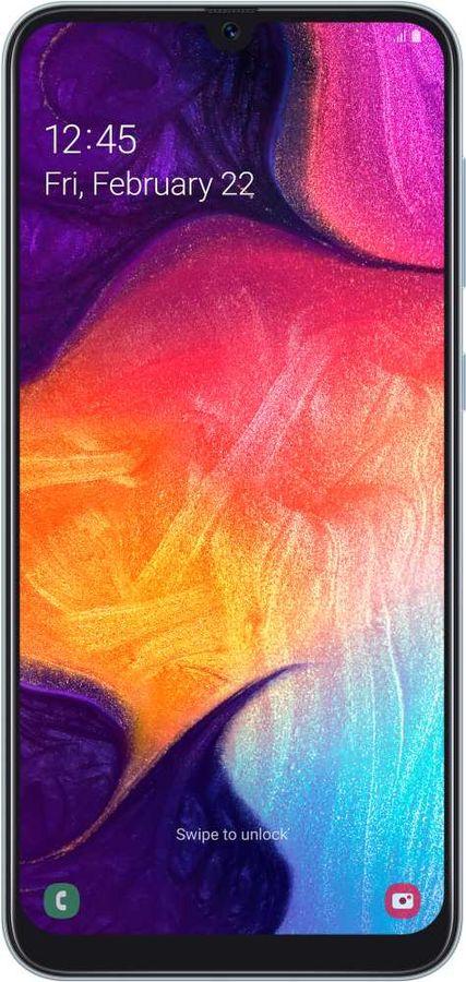 Смартфон SAMSUNG Galaxy A50 64Gb,  SM-A505F,  белый