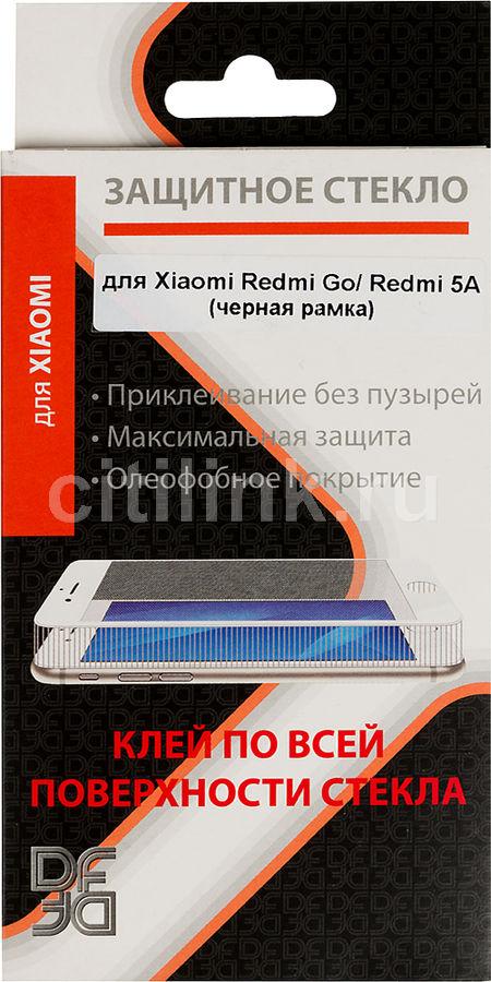 Защитное стекло для экрана DF xiColor-51  для Xiaomi Redmi Go,  1 шт, черный [df xicolor-51 (black)]
