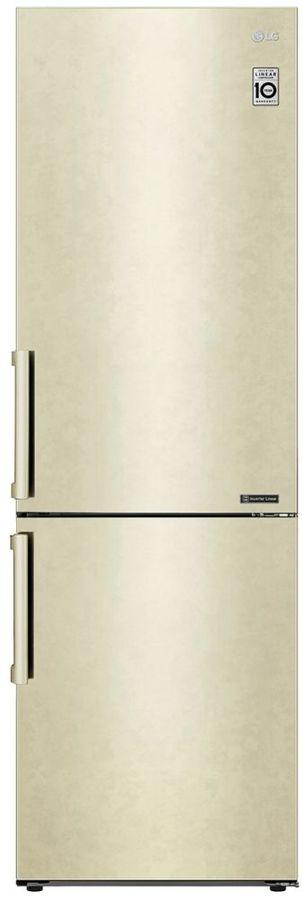 Холодильник LG GA-B509BEJZ,  двухкамерный, бежевый