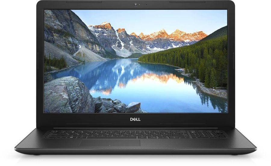 "Ноутбук DELL Inspiron 3780, 17.3"",  IPS, Intel  Core i7  8565U 1.8ГГц, 8Гб, 1000Гб,  128Гб SSD,  AMD Radeon  520 - 2048 Мб, DVD-RW, Linux, 3780-6884,  черный"