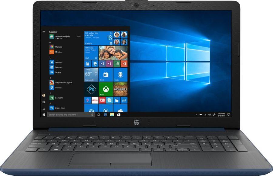 "Ноутбук HP 15-db1011ur, 15.6"",  AMD  Ryzen 3  3200U 2.6ГГц, 8Гб, 1000Гб,  AMD Radeon  Vega 3, Windows 10, 6LD83EA,  синий"
