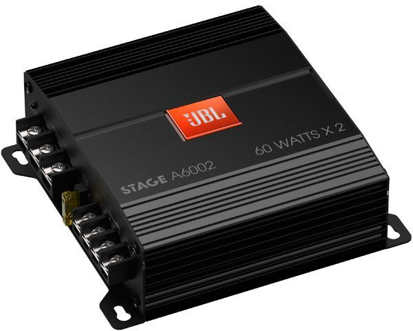 Усилитель автомобильный JBL STAGEA6002,  черный