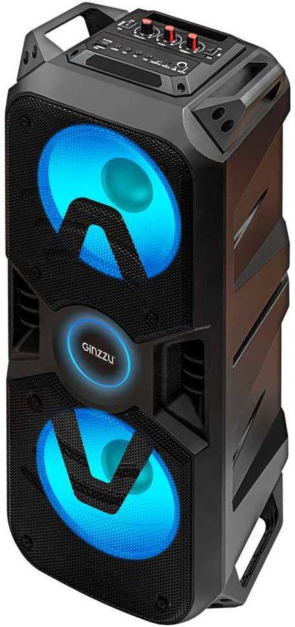 Портативная колонка GINZZU GM-207,  400Вт, черный