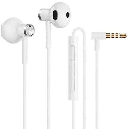 Наушники с микрофоном XIAOMI Mi Dual Driver Earphones, 3.5 мм, вкладыши, белый [zbw4406ty]