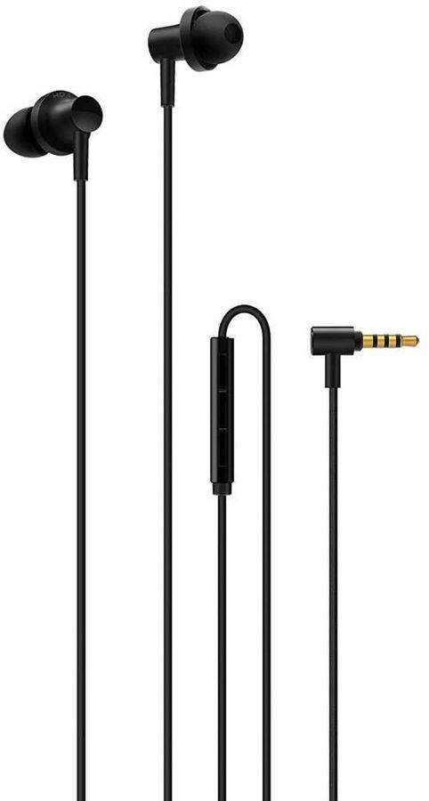 Наушники с микрофоном XIAOMI Mi In-Ear Headphones Pro 2, 3.5 мм, вкладыши, черный [zbw4423ty]