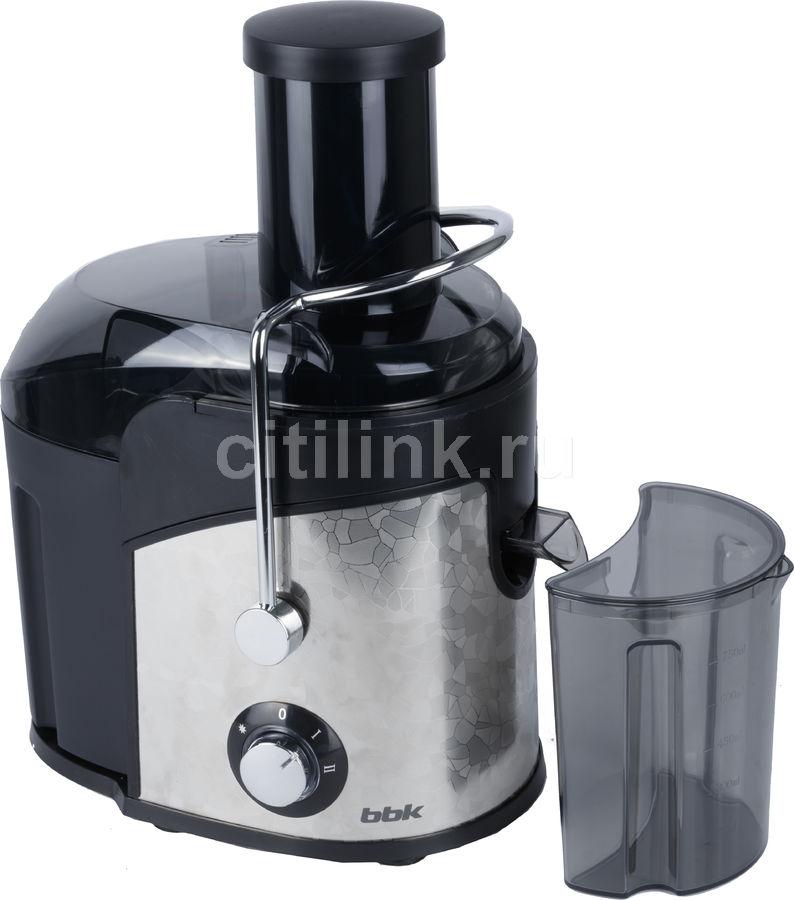 Соковыжималка BBK JC080-H03,  центробежная,  черный и серебристый