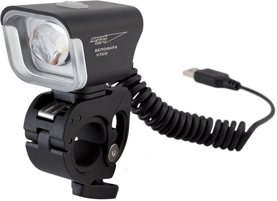 Купить Велосипедный фонарь ЯРКИЙ ЛУЧ V-700, черный в интернет-магазине СИТИЛИНК, цена на Велосипедный фонарь ЯРКИЙ ЛУЧ V-700, черный (1133082) - Ростов-на-Дону