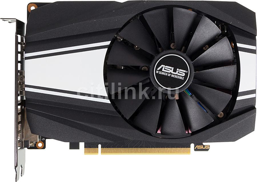 Видеокарта ASUS nVidia  GeForce GTX 1660TI ,  PH-GTX1660TI-6G,  6Гб, GDDR6, Ret