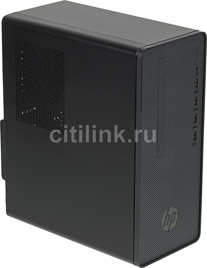 Компьютер  HP Desktop Pro A G2,  AMD  Ryzen 3 PRO  2200G,  DDR4 4Гб, 1000Гб,  AMD Radeon Vega 8,  Free DOS 2.0,  черный [6xa97es]