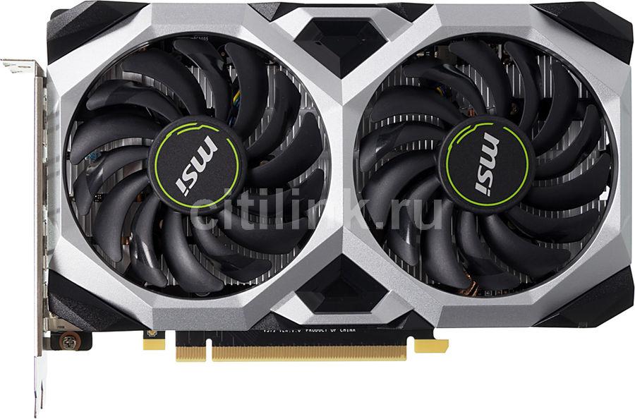 Видеокарта MSI nVidia  GeForce GTX 1660 ,  GTX 1660 VENTUS XS 6G OC,  6Гб, GDDR5, OC,  Ret