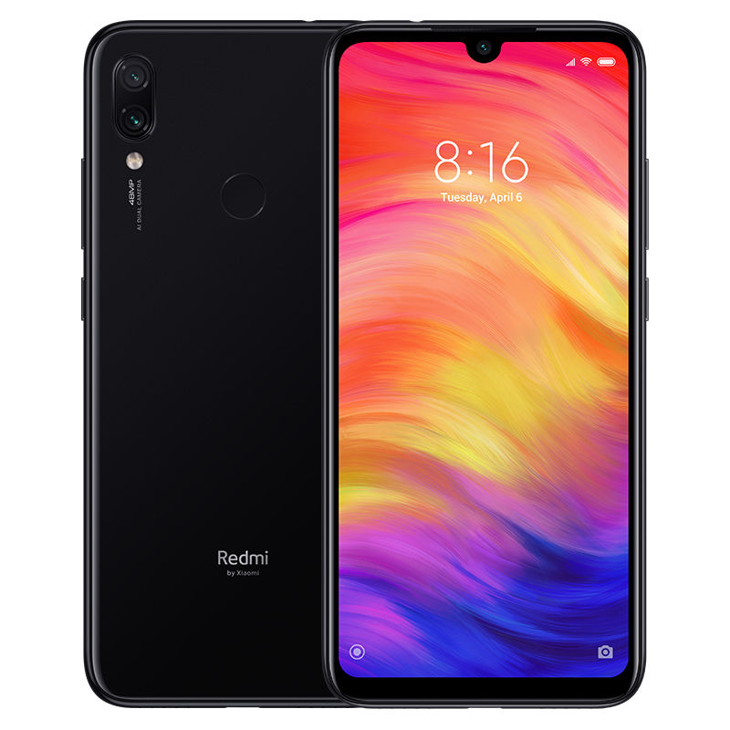 Смартфон XIAOMI Redmi Note 7 32Gb,  черный