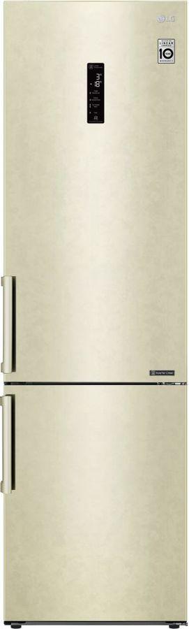 Холодильник LG GA-B509BEDZ,  двухкамерный, бежевый