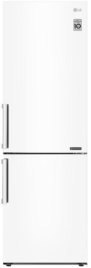 Холодильник LG GA-B459BQCL,  двухкамерный, белый