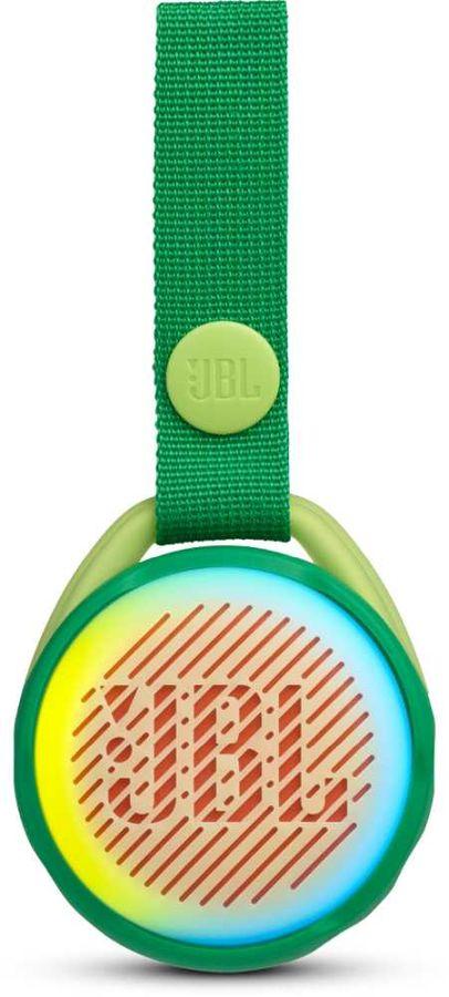 Портативная колонка JBL JR Pop,  3Вт, зеленый  [jbljrpopgrn]