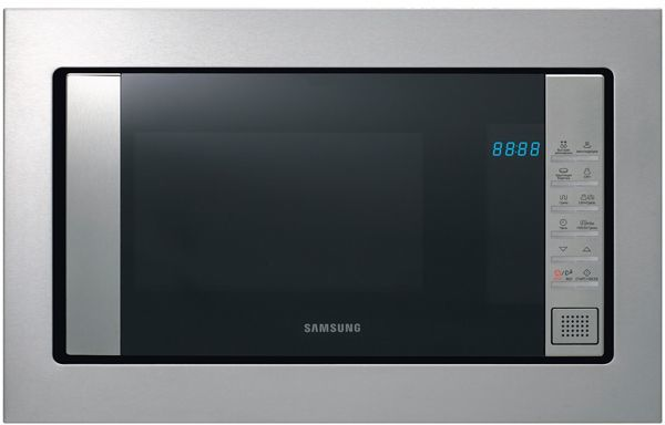 Микроволновая Печь Samsung FG77SUT 20л. 850Вт нержавеющая сталь/черный (встраиваемая)